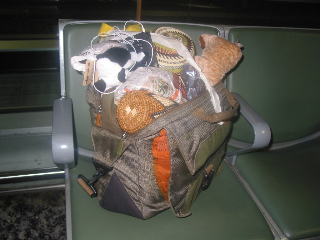 Two bags combine into one, 2007