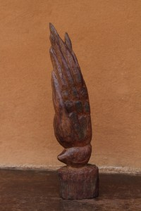 Wood sculpture, 2011