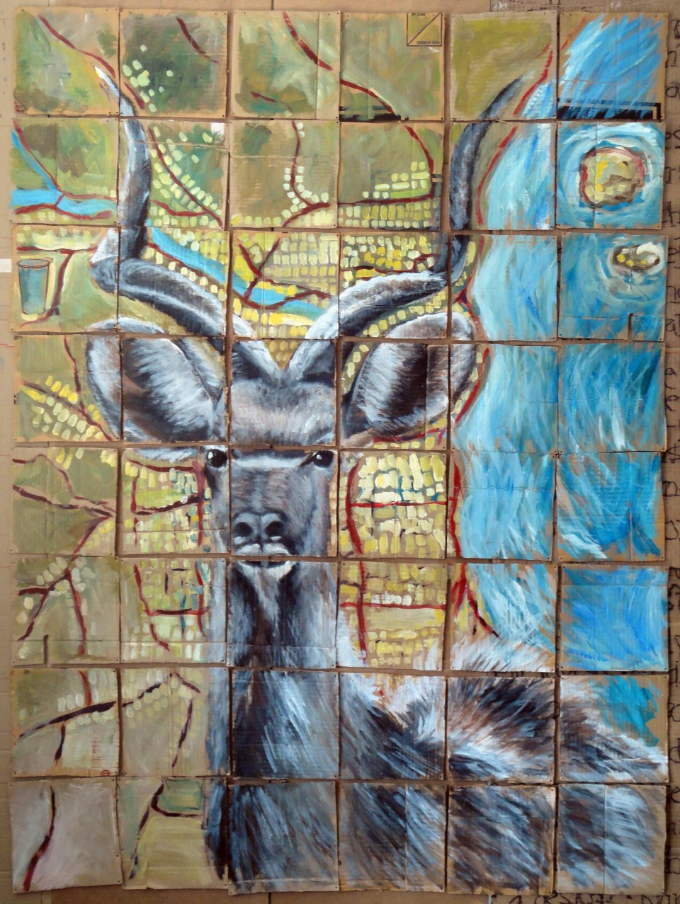 Kudu, 2009 (Cartography series)