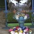 Haft sin table at Nowruz celebration at LACMA